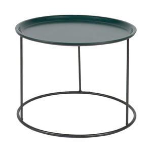 Petrolejově zelený odkládací stolek De Eekhoorn Ivar, Ø56cm