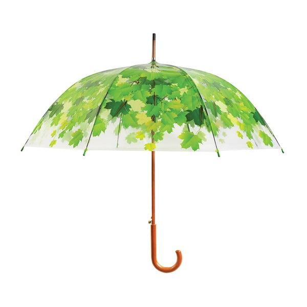 Umbrelă Ambiance Feuilles, ⌀ 92,5 cm