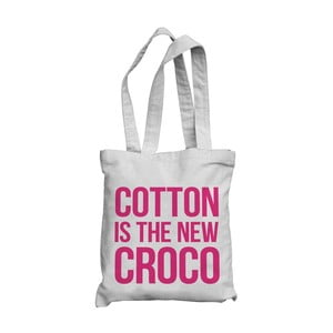Taška Cotton is the new croco