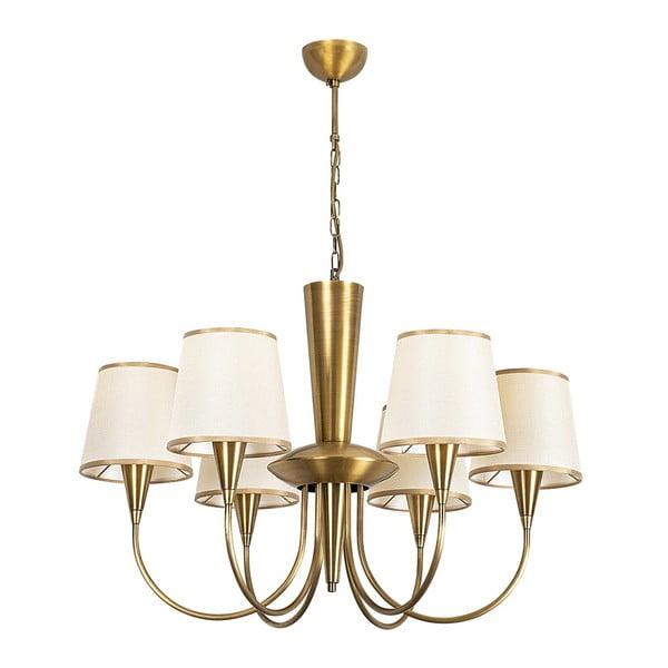 Metalowy lampa wisząca w złotym kolorze Opviq lights Pantelis