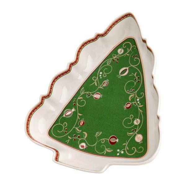 Servírovacia miska s vianočným motívom Brandani Tempo di Festa