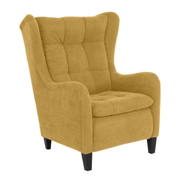 Merlon sárga füles fotel - Max Winzer