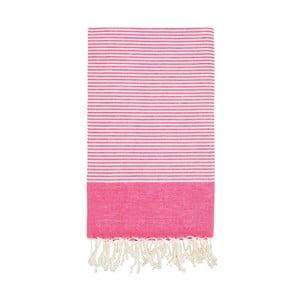 Hammam osuška Side Pink, 100x180 cm