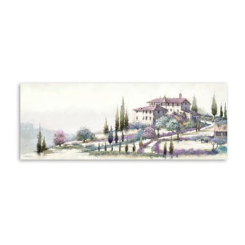 Tablou Styler Canvas Holiday Tuscany, 60 x 150 cm de la Styler