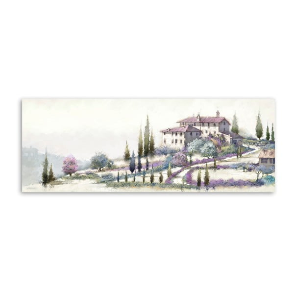 Obraz Styler Canvas Holiday Tuscany, 60 x 150 cm