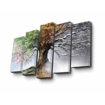 Tablou din mai multe piese Four Seasons, 82 x 50 cm imagine