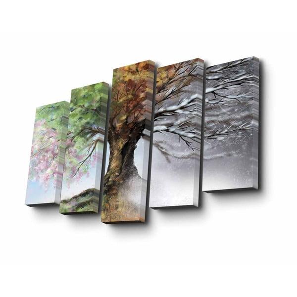 Obraz wieloczęściowy Four Seasons, 82x50 cm