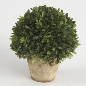 Umělá rostlina v květináči, 15 cm