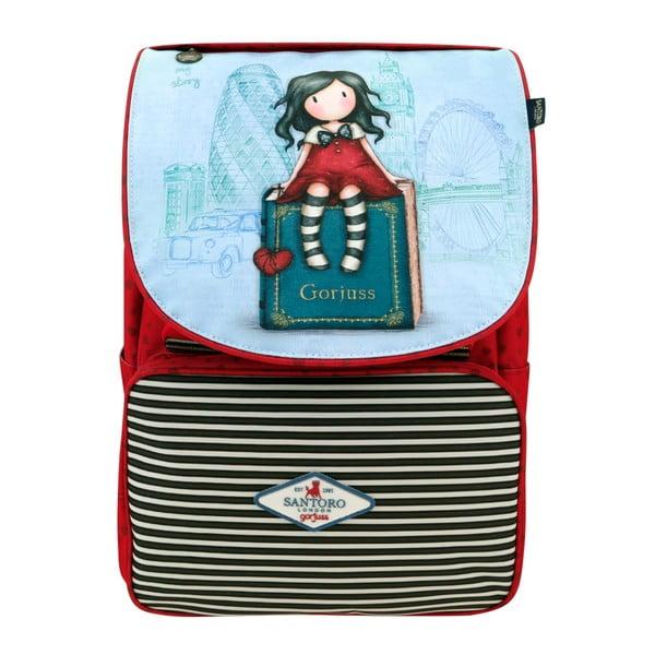 Zelený školní batoh Santoro London Rosebud