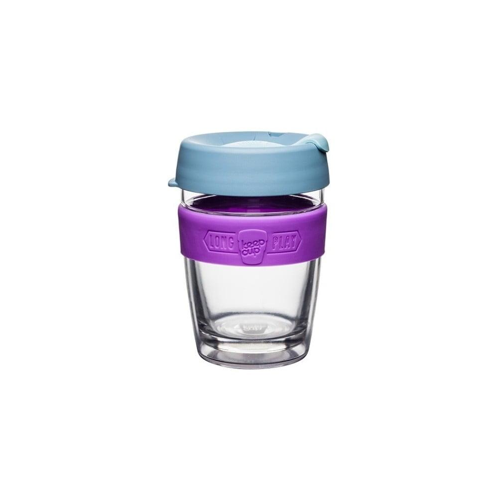 Cestovní hrnek s víčkem KeepCup LongPlay Lavender, 340 ml