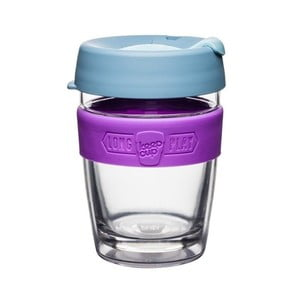 Cană de voiaj KeepCup LongPlay Lavender, 340 ml
