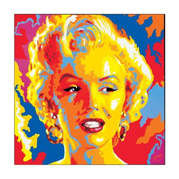 Obraz  Gorsky - Marylin Monroe, 85x85 cm