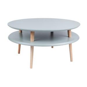 Tmavě šedý konferenční stolek Ragaba UFO,Ø70cm