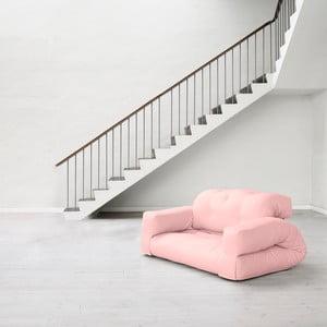 Canapea extensibilă Karup Hippo Pink Peonie