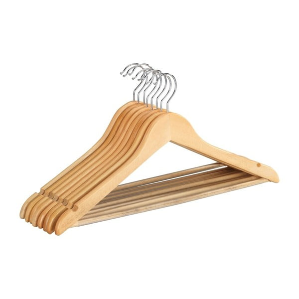 Shaped Hanger Eco 8 db fa vállfa - Wenko