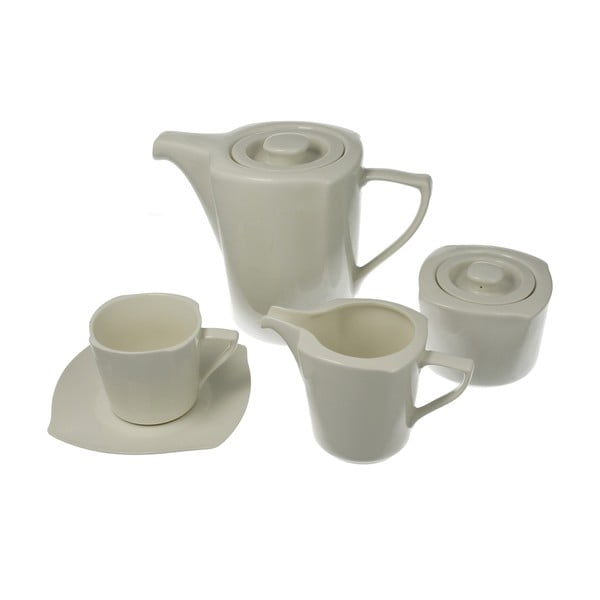 15dílná porcelánová sada Bianco