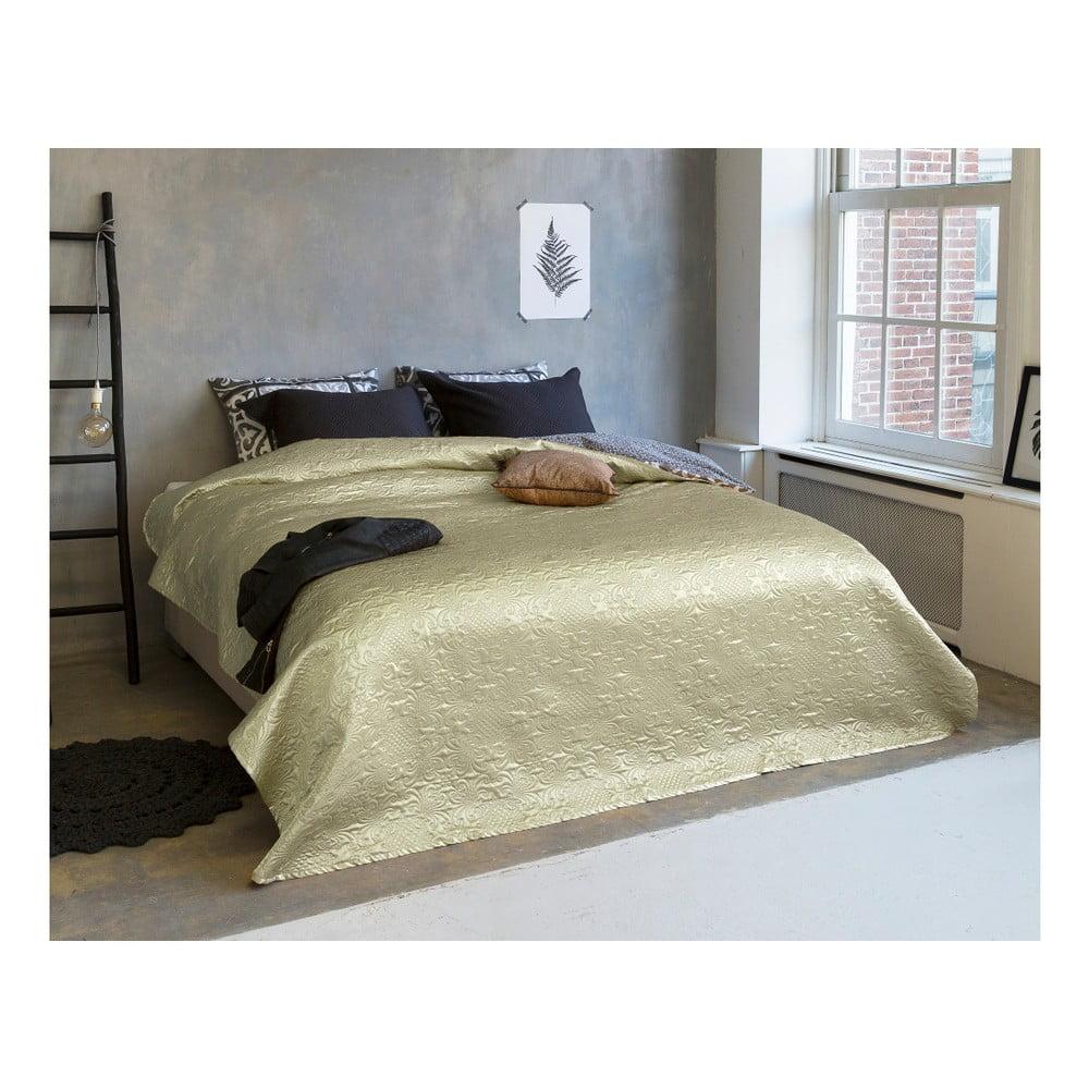 Přehoz přes postel s odlesky na dvoulůžko Sleeptime Clara Satin, 260 x 250 cm