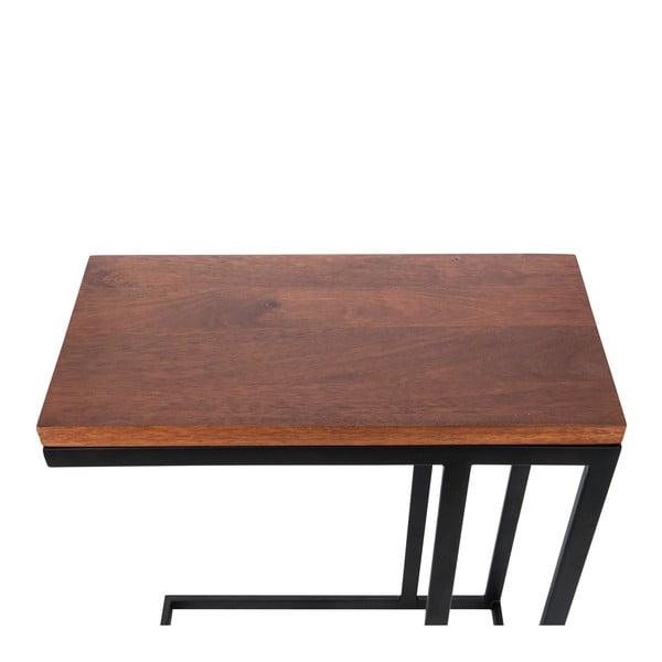 Odkládací stolek Side Brown