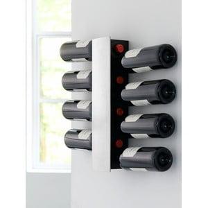 Nástěnný stojan na lahve vína Steel Function Winerack