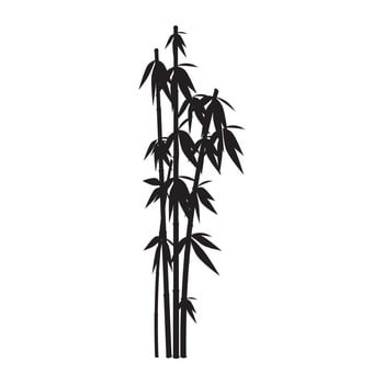 Autocolant de perete Bambus Tree 25 x 82 cm
