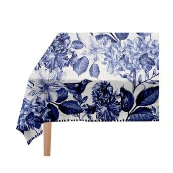 Față de masă Linen Couture Blue Birds, 140 x 140 cm imagine