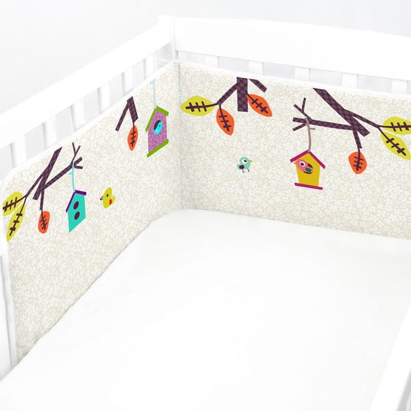 Nastavitelná výstelka do postýlky Baleno Sweet Home, 210x40cm
