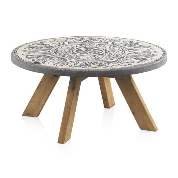Konferenční stolek Geese Concrete, ⌀ 78 cm