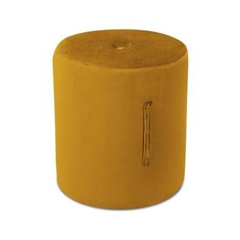 Puf Mazzini Sofas Fiore, ⌀ 40 cm, portocaliu de la Mazzini Sofas