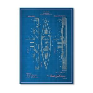 Plakát Toy Warship, 30x42 cm