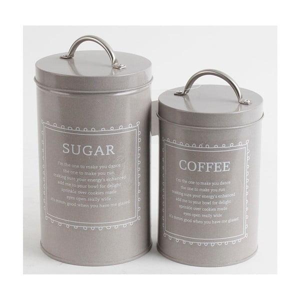 Sada dóz na cukr a kávu