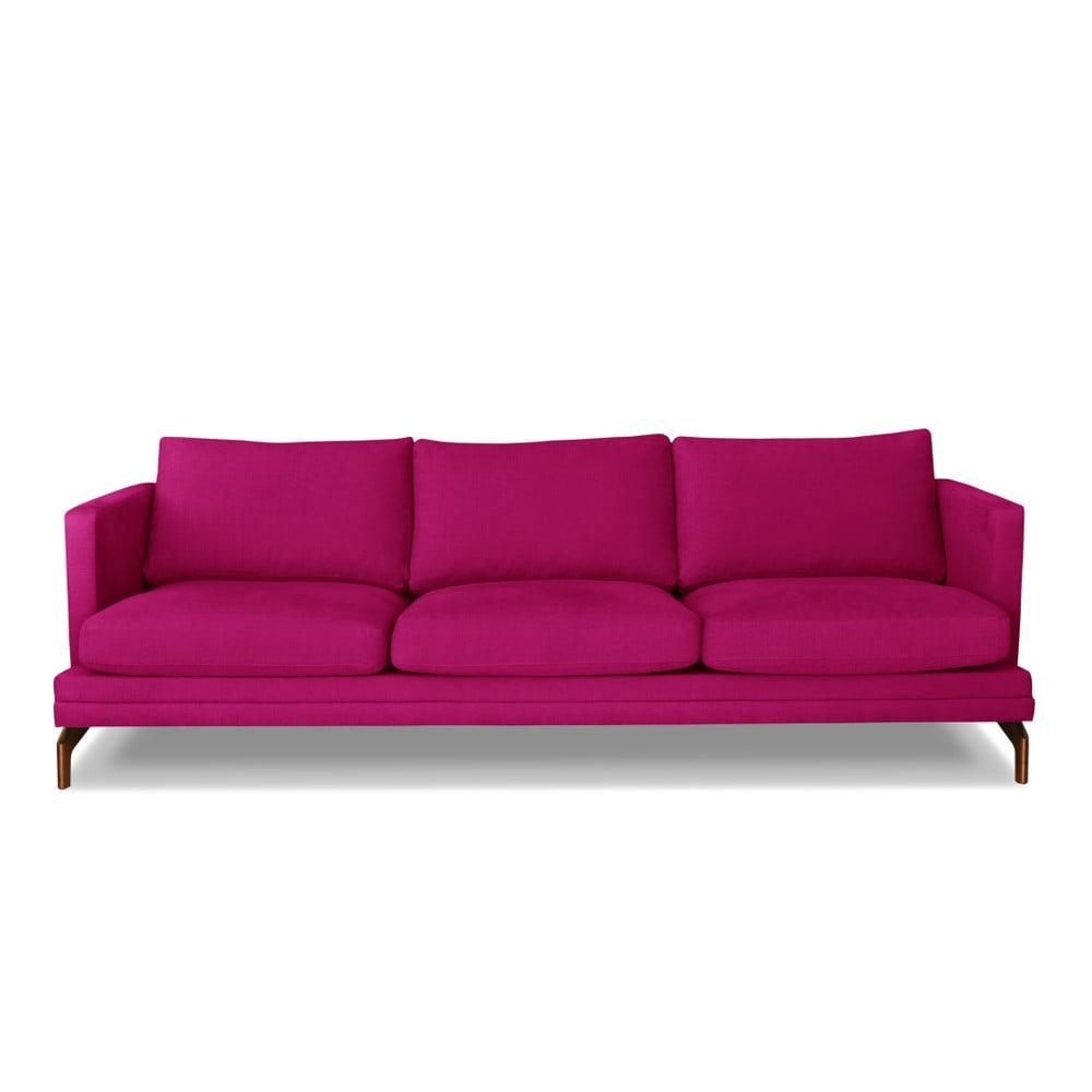 Růžová trojmístná pohovka Windsor & Co. Sofas Jupiter