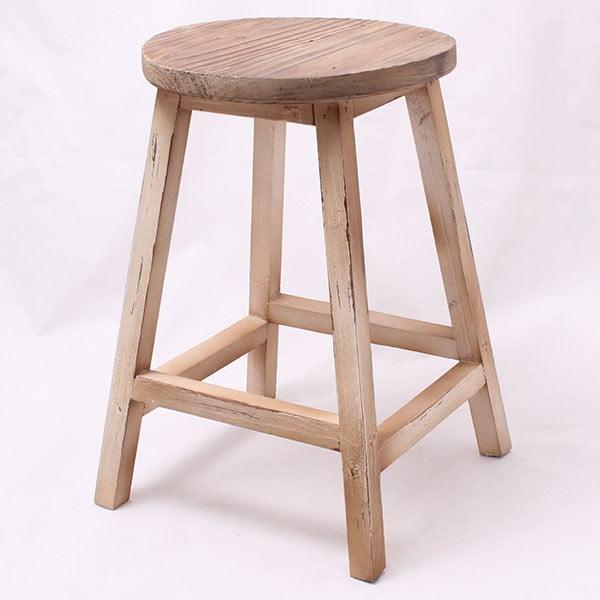 Dřevěná stolička Ring, světlá