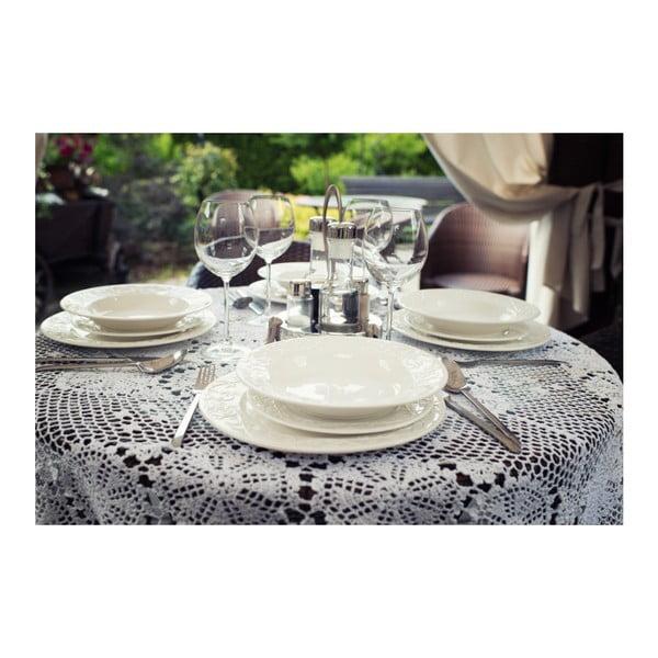 Porcelánová sada talířů Duo Gift Hemingway, 18 ks
