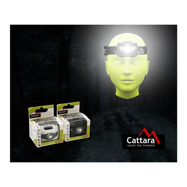 LED čelovka Cattara Penjo, 80 lm