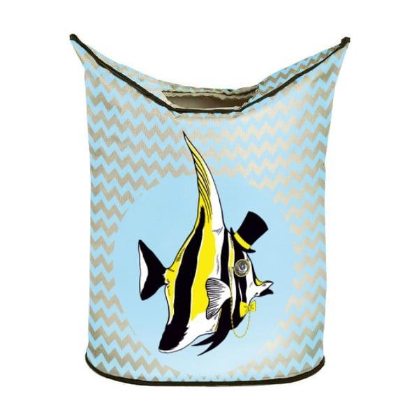Koš na prádlo Yellow Fish