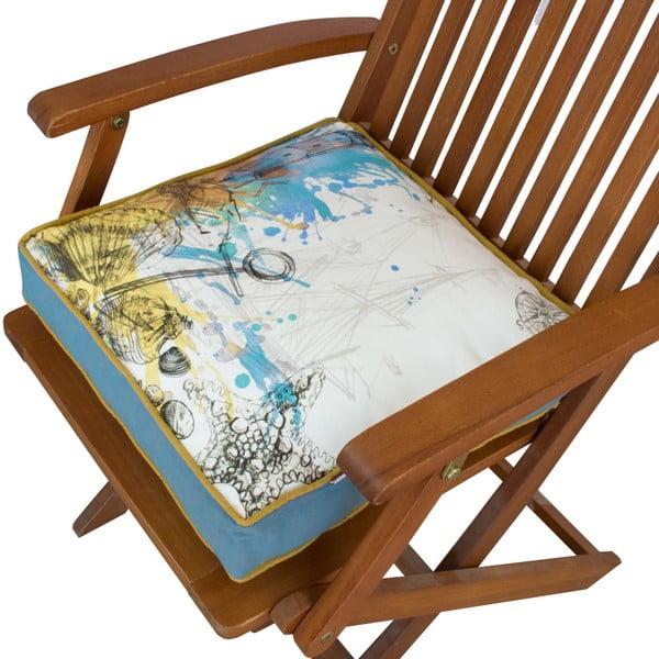 Pernă pentru scaun Gravel Stylissimo, 42x42cm,cuumplutură
