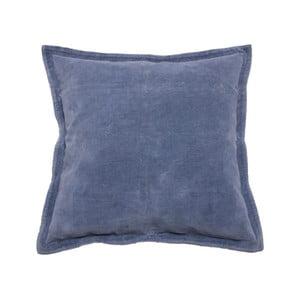 Modrý polštář Walra Flinn, 45 x 45 cm