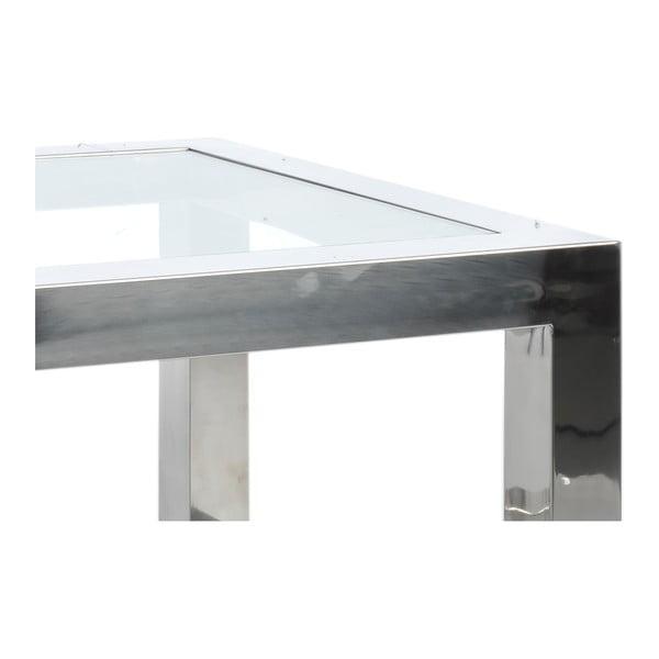 Odkládací stolek Steel Silver