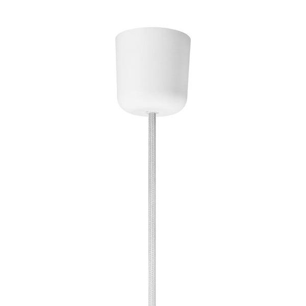 Bílé závěsné svítidlo Bulb Attack Tres,⌀36cm