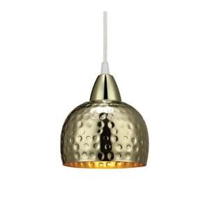 Zlaté závěsné světlo Markslöjd Hamer