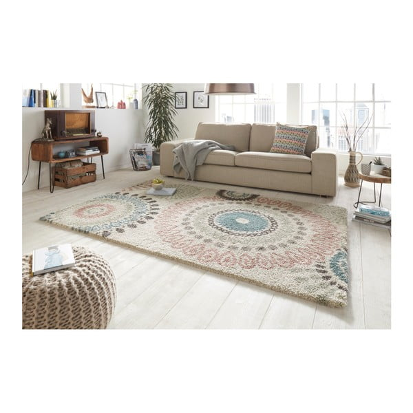 Krémový koberec Mint Rugs Allure Gallero, 120x170cm
