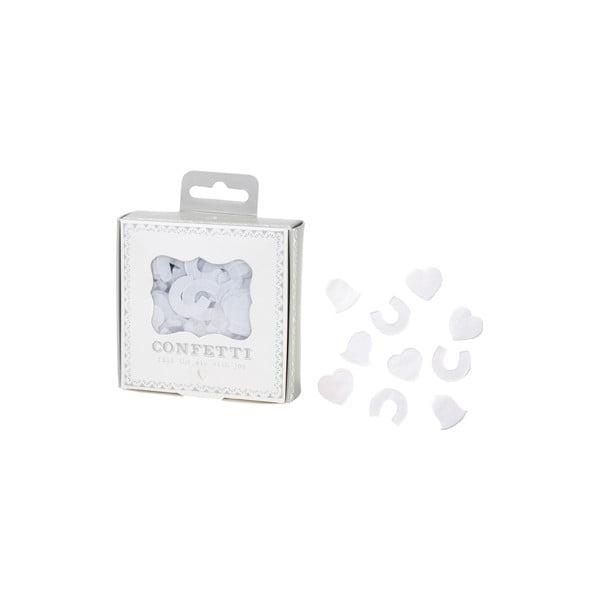 Papírové konfety Wedding Time