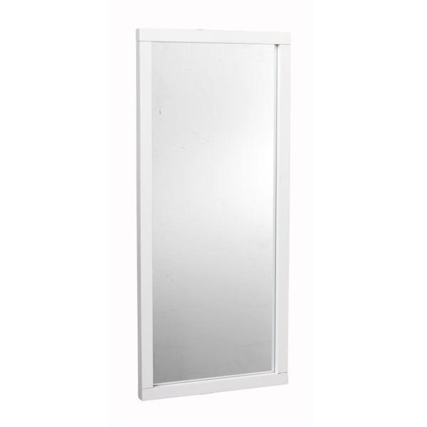 Biele dubové zrkadlo Folke Feti
