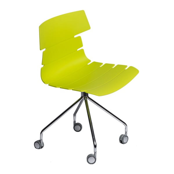 Sada 2 zelených židlí D2 Techno Roll