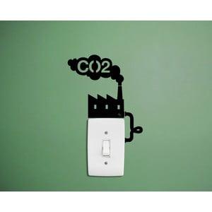 Samolepka CO2 Factory Reminder