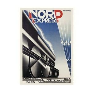 Obraz na plátně Nord Express, 80x60 cm