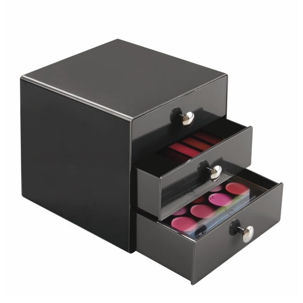 Černé šuplíčky InterDesign