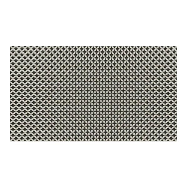 Vinylový koberec Afrah Grey, 52x120 cm