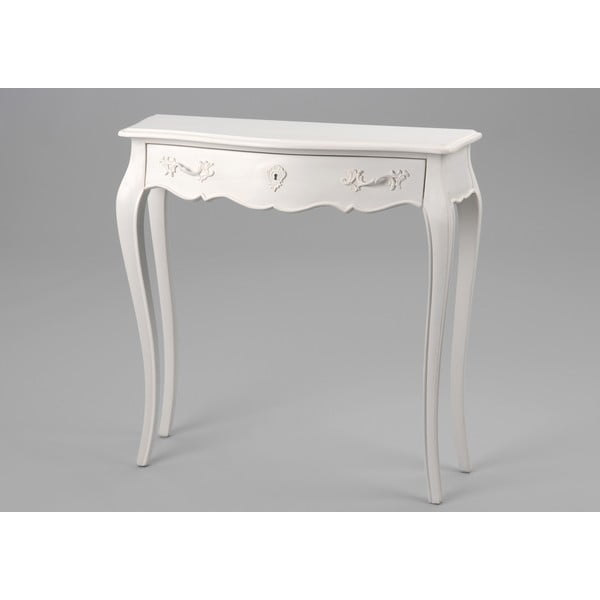 Stůl se zásuvkou Amadeus,  80x25 cm