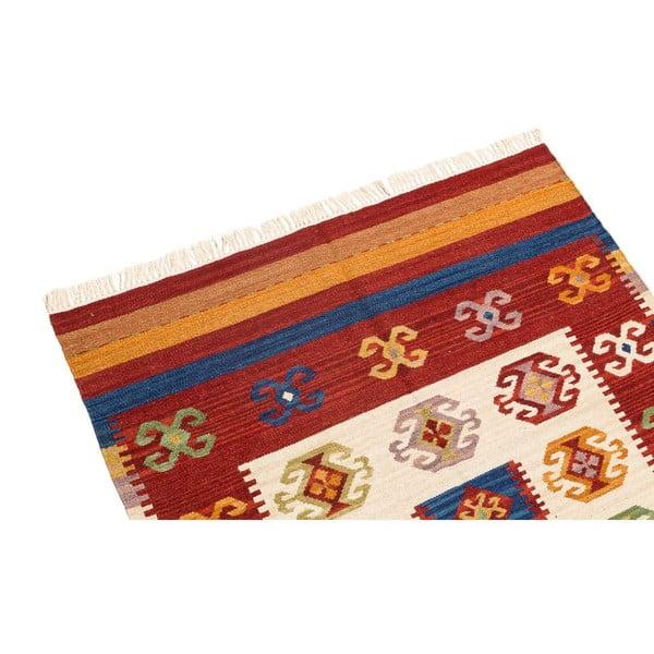 Ručně tkaný koberec Kilim Dalush 107, 120x70 cm